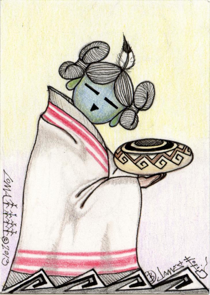 Pottery Mana (Girl) 2 - ACEO