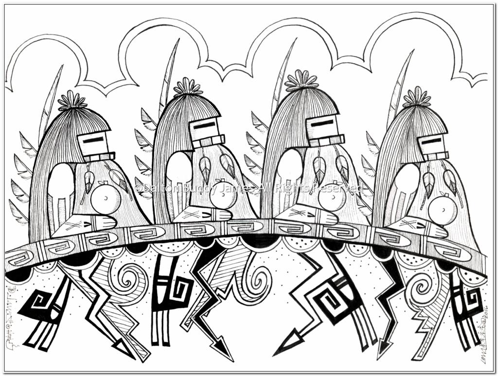 Longhair Kachinas